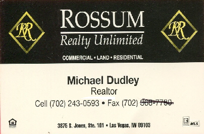Rossum Realty Card